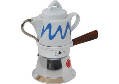 Caffettiera Top Moka per induzione bianca